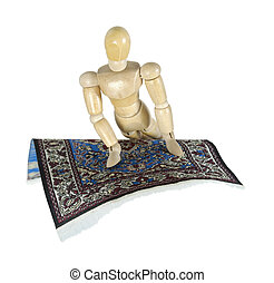 Turning on a Flying Carpet