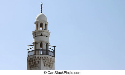 minaret of Bahrain mosque