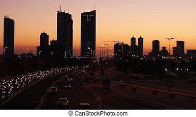 sunset in bahrain