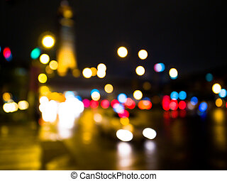 Artistic style-Defocused urban abstract texture background...