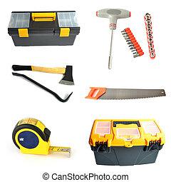 collage, herramientas