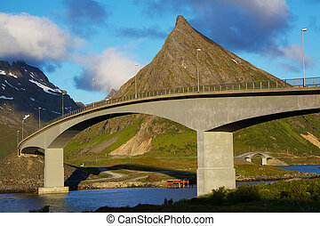 Bridges on Lofoten