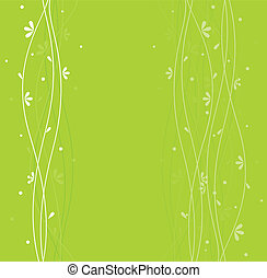 Floral backgrond - Vector illustration of floral backgrond