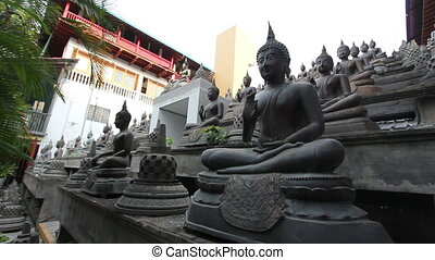 Sri Lanka buddhist temple