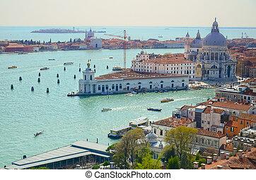 The Basilica di Santa Maria della Salute, Venice, Italy