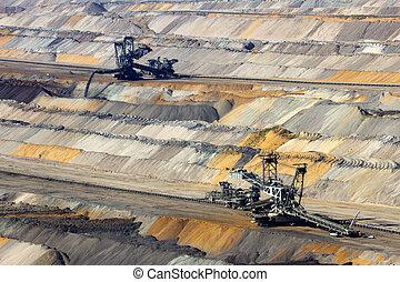 Mine - Open pit mine