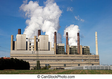 power plant - coal power station