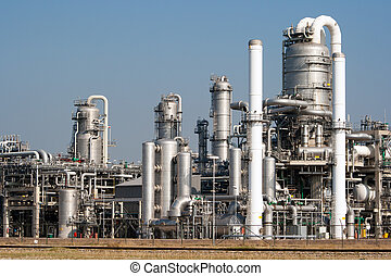 Refinery - petrochemical industrial plant