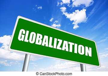 Globalization sign
