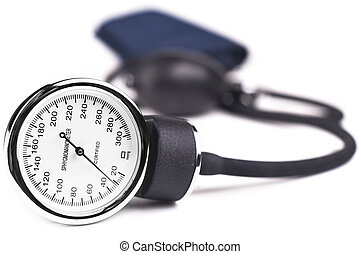 Hypertension - Blood pressure meter medical equipment...