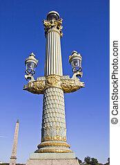 Place de la Concorde square, Paris,