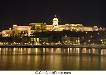 Hungary, Budapest, Castle Hill and Castle.
