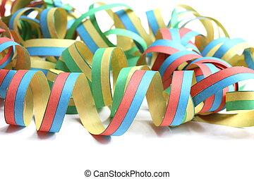 colorido, fiesta, guirnaldas
