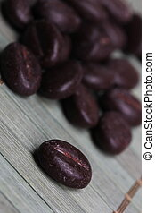 chocolate coffee beans