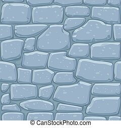 Seamless pattern of masonry Stone wall