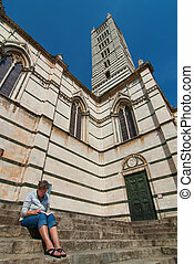 Duomo in Siena Italy