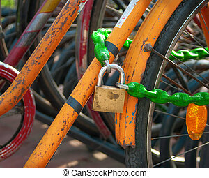 Security and Economics - Pad Lock and Chain