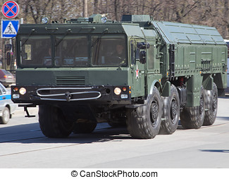 Military equipment - Russia, Sankt-Petersburg, on May 8. The...