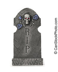 vector image of a tombstone