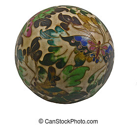 cloisonne paperweight