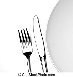 Place Setting on White