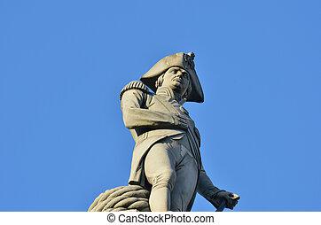 NELSONS, estátua