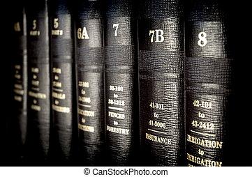 ley, Libros
