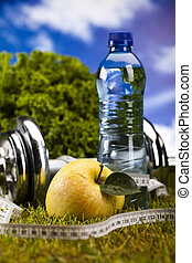 Healthy lifestyle concept, vitamin - Healthy lifestyle...