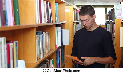 student in the library 3