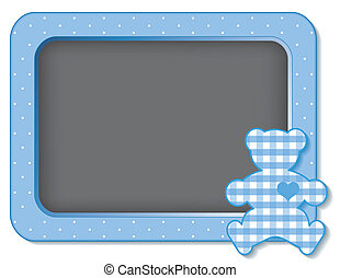 Baby Teddy Bear Nursery Board - Baby teddy bear nursery...