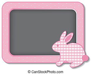 Baby Bunny Nursery Bulletin Board - Baby bunny rabbit...
