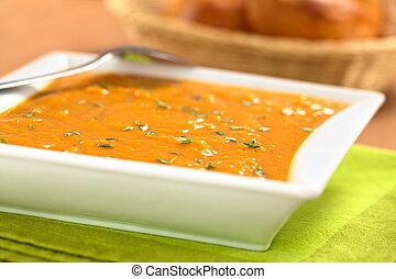 doce, batata, sopa