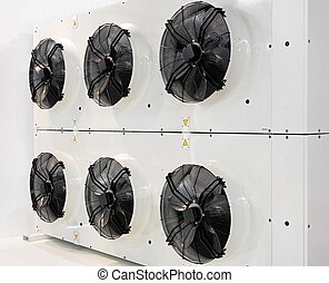 Industrial fans - Six industrial fans for big air...