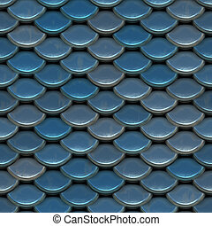 Scales of Armor - A texture that looks like scales of armor,...