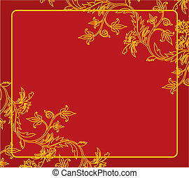 Vintage background - Vector illustration of Vintage...