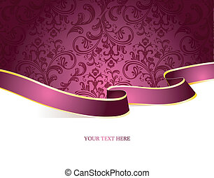 Vector illustration of Vintage background - Vector...