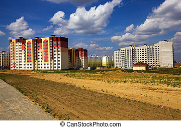 the new residential district