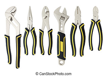 variety of tools - A variety of tools are placed...