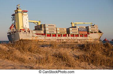 Merchant Ship - VALENCIA - OCTOBER 1: Celia St Johns cargo...