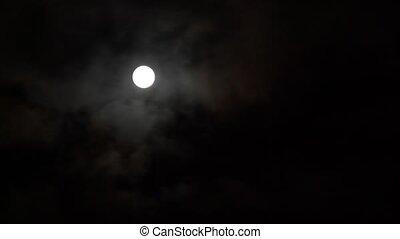 timelapse full Moon