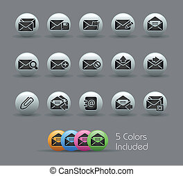 E-mail Icons // Pearly Series