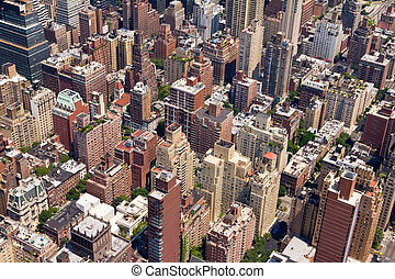 Buildings in Downtown New York