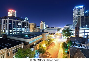 Downtown Birmingham, Alabama, USA