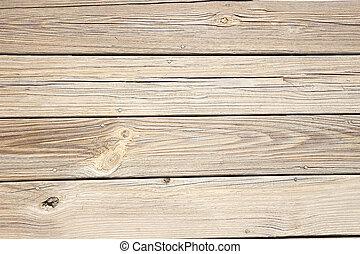 bois, vieux, planches, a mûri