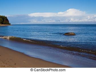 sea surf - landscape of the sea coast