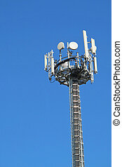 Antennas for the transmission of signals cellular mobile...