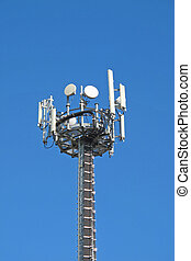Antennas for the transmission of television signals