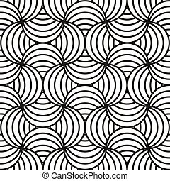 Black & white abstract design