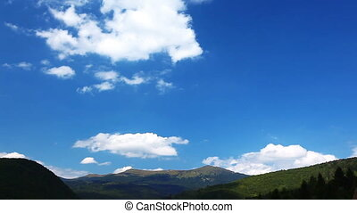 mountain landscape timelapse