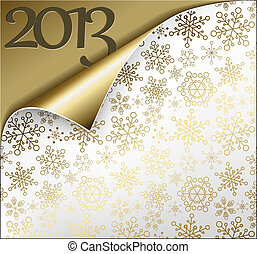Vector Christmas New Year Card 2013 - Vector Christmas New...